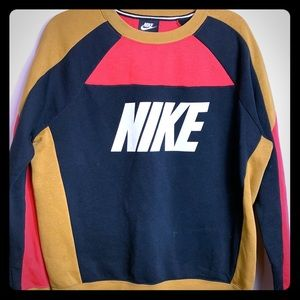 Nike Throwback Pullover Sweater Size Large